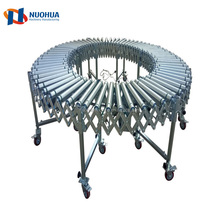 Factory Customized Single Chain Automated Motived Curved Roller Conveyor Chain