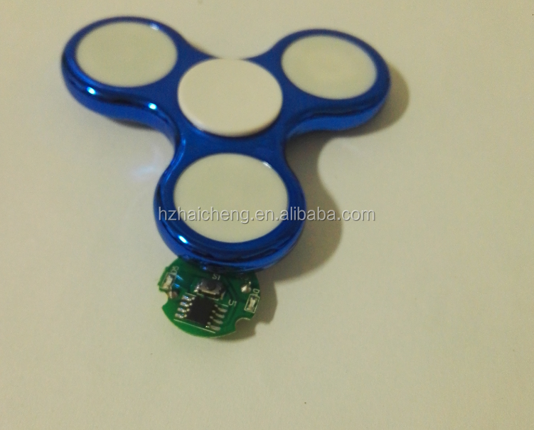 <strong>Manufacture</strong> for hand spinner toys ,battery flash controling led pcba