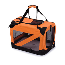 New arrival foldable pet dog cat carrier 600D polyester