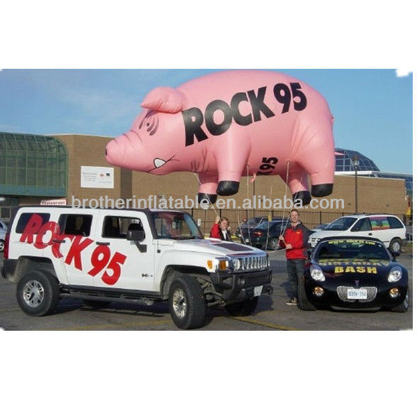 XDCA28 giant inflatable flying pig