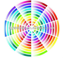 Rainbow Circle Temporary Tattoo Stickers -WMS129