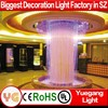 China fiber optic waterfall light curtain for fairy wedding waterfall light curtain