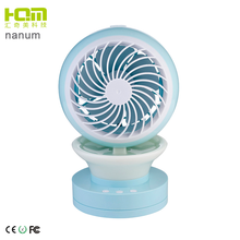 Two Wind Speed Office Desk Table Pedestal Water Cooling Mini usb Fan with Water Spray
