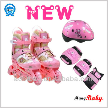 flashing roller skate/flashing wheel shose/adjustable roller skate