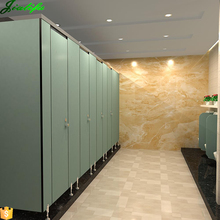 Toilet/bathroom cubicle partition material and toilet cubicles size