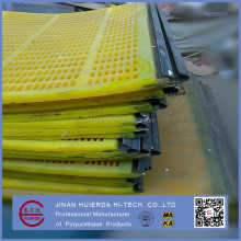 tensioned polyurethane screen, modular pu screen