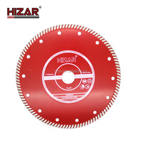 "4.5""/114mm Diamond saw blade Dry Cutters Continuous circular Rim Small Saw Blade for stone"