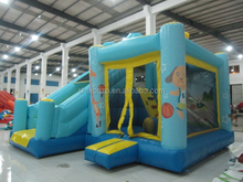 Durable inflatable jumpinig combo with slide