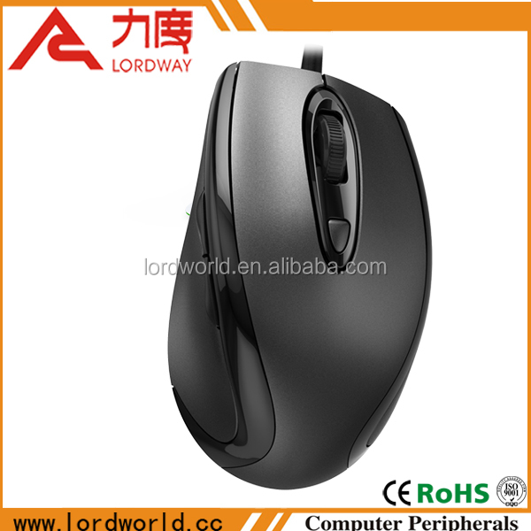 2014 new design 2.4g wireless 6d optical mouse