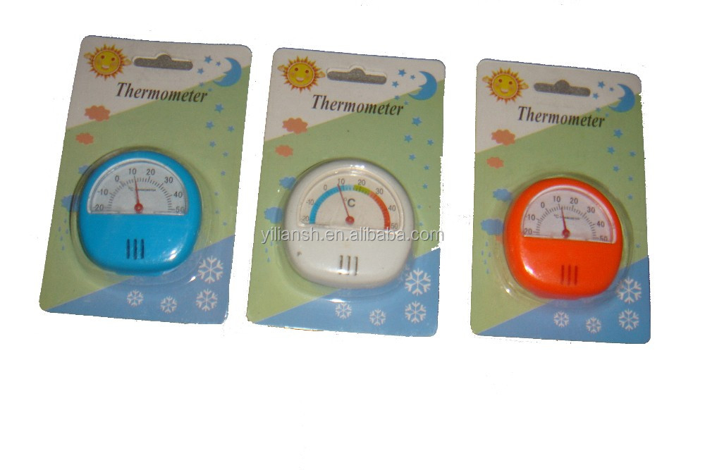 pointer type bimetallic refrigerator thermometer