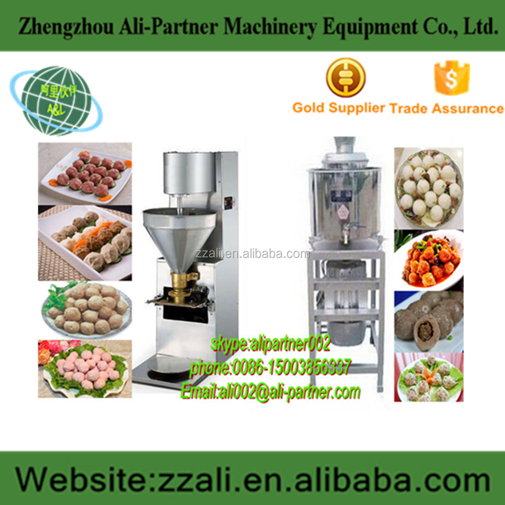 Ali-partner machinery low cost automatic fish ball/beef roll /vegetable/meat ball machine