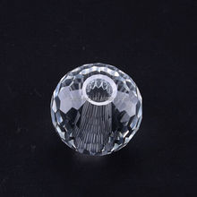 high quality good sale K9 crystal chandelier parts glass faceted ball