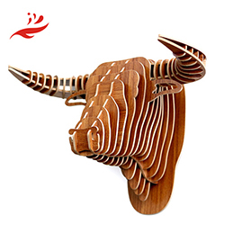 resin animal head wall decoration wall mounted animal head