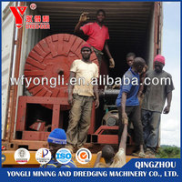 Bucket type gold and diamond dredger