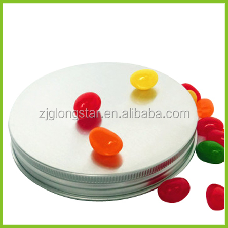 aluminum screw cap for hair wax,hair coditioner, candle cap