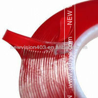 High adhesive red liner scotch sellotape