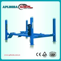 manufactory & export APLBODA brand used car lifts for sale APL6450 with CE 4000kg capacity on ground stall
