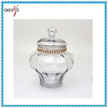 Wholesale good quality candy dish with lid wedding favors display jar