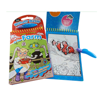 Stunning and Attractive to Kids Magic Water Coloring Promotional and Fun Book with Low Price