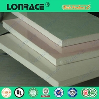 prices gypsum board false ceiling 7mm thickness