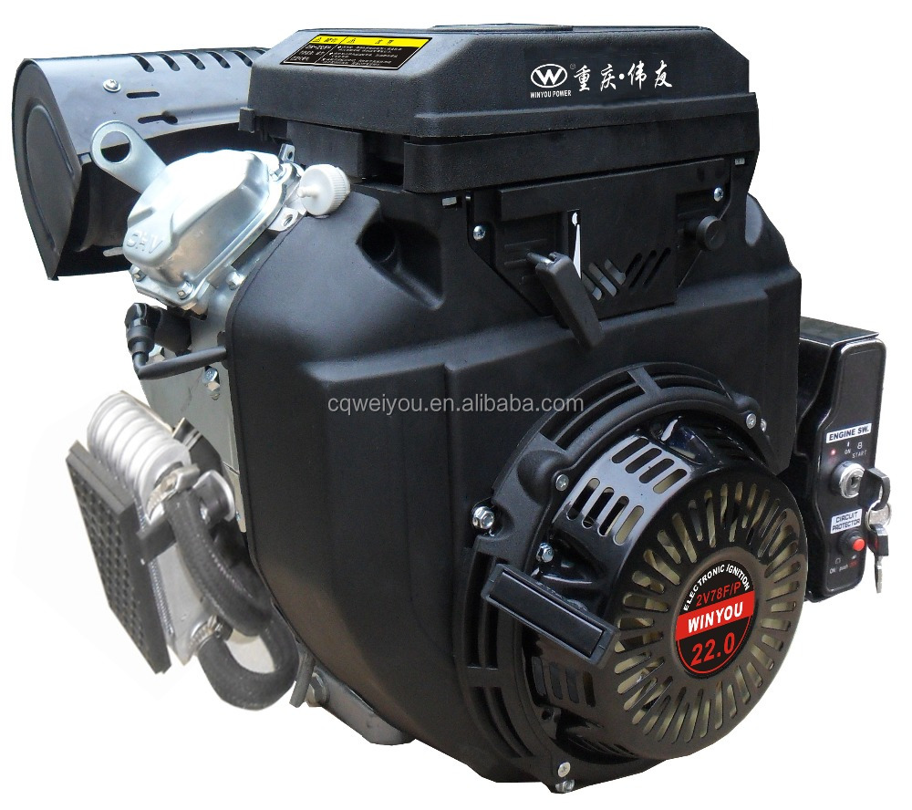 22HP Wide Spread Use V-twin Cylinder Gasoline <strong>Engine</strong> 2V78F
