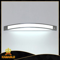 Hot selling Silver light fixtures for bathroom mirror