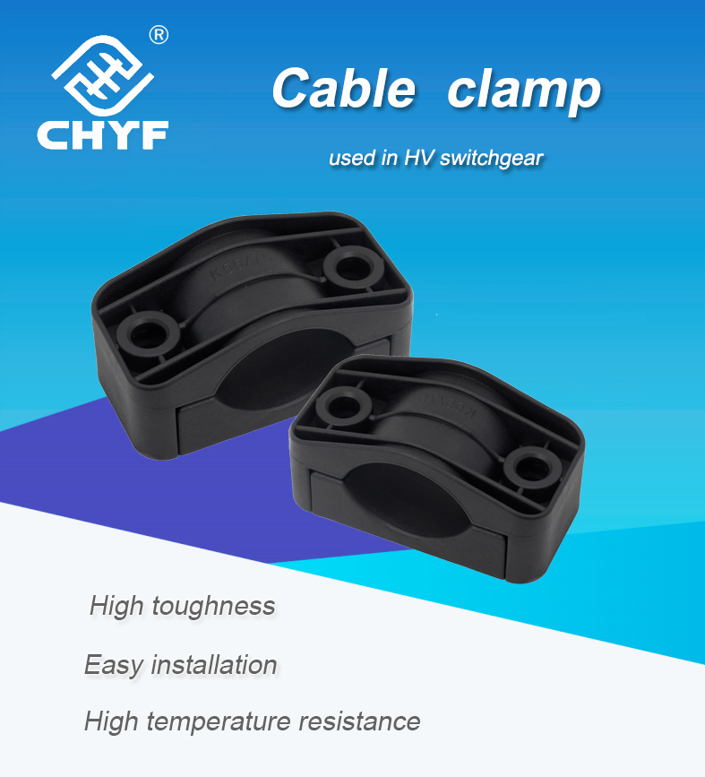 China Supplier High Voltage Small Fireproof Cable Cleats For 36-52 ...
