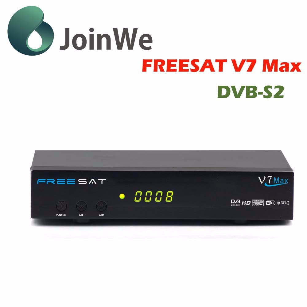 Fascinating Digital Satellite Receiver super max Freesat V7 Max (DVB-S2) in stock