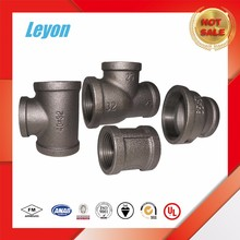 black malleable iron pipe steel pipe fittings dimensions