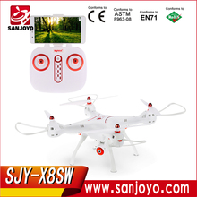Syma New Item X8SW FPV RC Headless Quadcopter Drone With Hover Function HD Wifi Camera