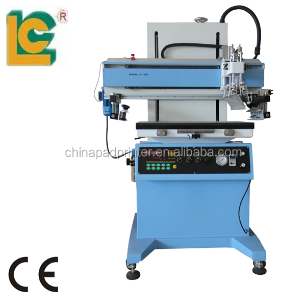 Flat bed Jute Bag and Stationery Silk Screen Printing Machine