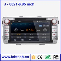 Selling hot car dvd player car dvd player android car dvd vcd cd mp3 mp4 player 8821-6.95 Built-in WIFI hotspot sharing function