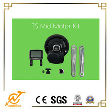 TSDZ2 brushless mid geared motor pedal assist kit fit for e-bike