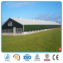 China-made prefab steel structure poultry farm,commercial chick house