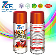 shenzhen rainbow manufacturer wholesale spray paint heat resistant