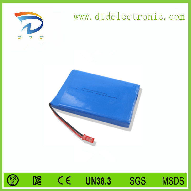 GengineJia DC 12V 1200mAH lithium polymer battery for electric trolling motor