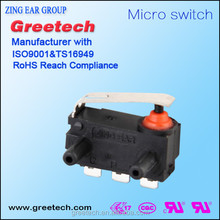 Zingear 20a safety miniature micro switch