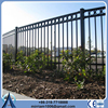 6ft high welded ornamental iron clear panel fence panel supplier