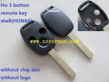 Ho 3 button remote key shell(HON66)
