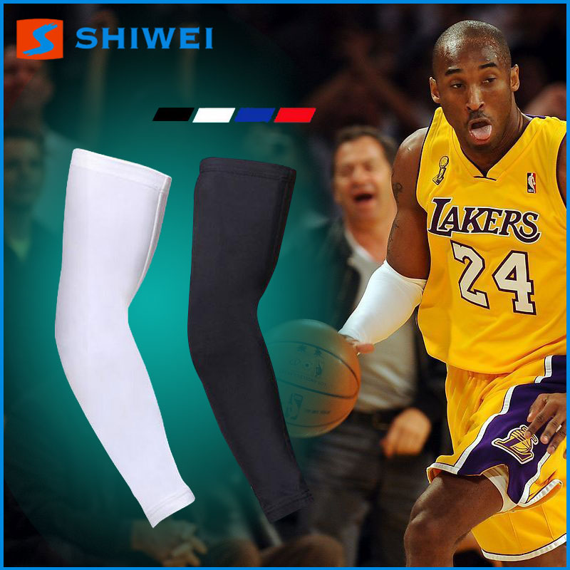 Elastic SHIWEI-HB-001# lycra basketball elbow pad in stock