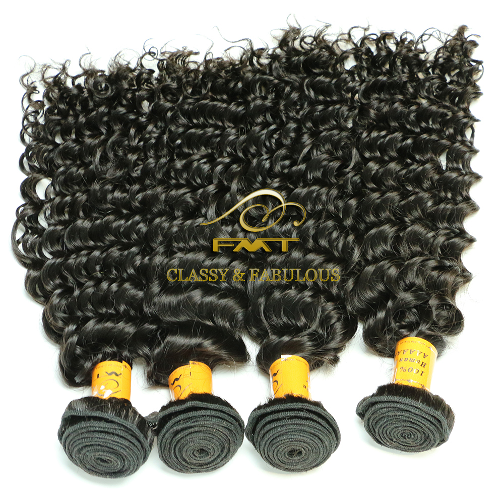 Wholesale 8 Inch Bohemian Jerry Curl hair Weave 100% Unprocessed Human Hair For Braiding