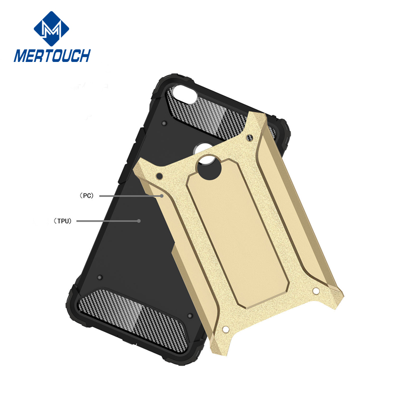 Hybrid 2 in 1 shockproof full protective armor bumper cover , for xiaomi mi 6 phone case