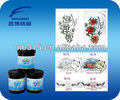 UV silk screen printing for solar discoloration ink