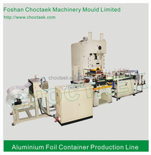 Rectangle Type and Coated Treatment Aluminium Foil Container Machine