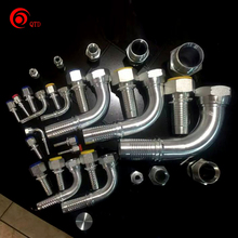 Factory Directly Customized Carbon Steel Hydraulic Hose Fittings Manufacturers