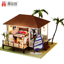 Handcrafted miniature toy 3d wooden puzzle box dollhouse beauty toys