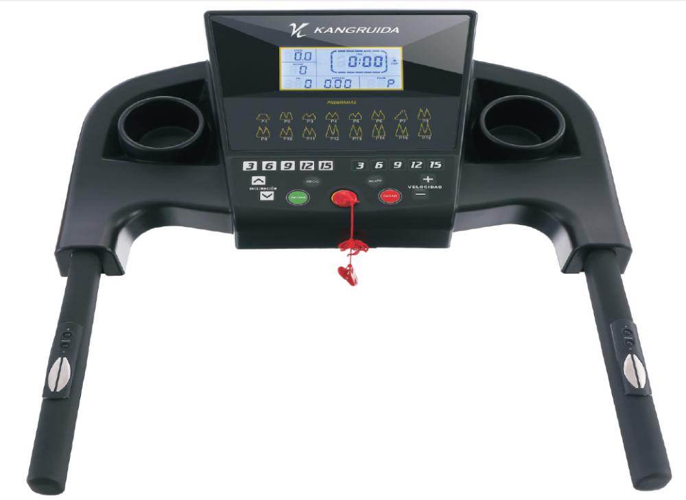 Heavy Duty Ac Motor Semi Commercial Treadmill For Sale