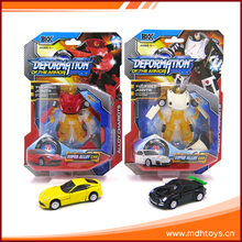 Wholesale mini size 1:64 scale alloy deformation car toy for sale