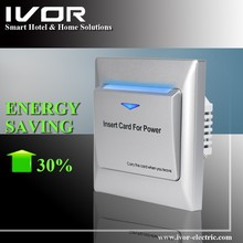 EU Standard Energy Saving Key Card Switch for Hotel