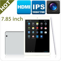 7.85 tablet, 5 Point Touch dual Core 1.2GHz 512MB 8GB HDMI OTG Tablet pc RK3168